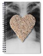 Heart Healthy Food Spiral Notebook