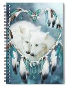 Heart Of A Wolf Spiral Notebook