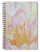 Heart Of Aqualily Spiral Notebook