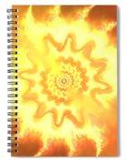 Heart Of Fire Spiral Notebook