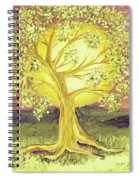 Heart Of Gold Tree By Jrr Spiral Notebook