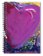 Heart Of Love Spiral Notebook