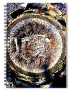 Heart Of Palm Spiral Notebook