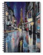 Heart Of Paris Spiral Notebook
