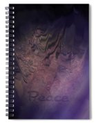 Heart Of Peace Spiral Notebook