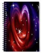 Heart Of The Matter Spiral Notebook