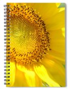 Heart Of The Sunflower Spiral Notebook