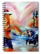Heart Of The Triathlete Spiral Notebook