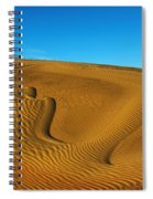 Heart In The Sand Dunes Spiral Notebook