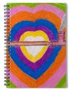 Heart Pipe Spiral Notebook