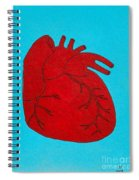 Heart Red Spiral Notebook