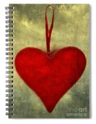 Heart Shape Spiral Notebook