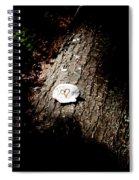 Heart Shape Stop Spiral Notebook