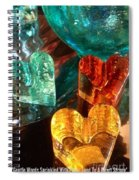 Heart Strong Quote Spiral Notebook