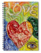 Heart To Heart G Spiral Notebook
