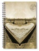 Heart Tracks Spiral Notebook