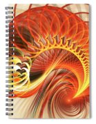 Heart Wave Spiral Notebook