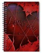 Heartbeat 2 Spiral Notebook