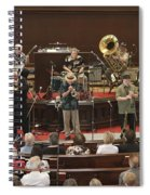 Heartbeat Dixieland Jazz Band Spiral Notebook