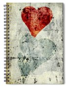 Hearts 1 Spiral Notebook