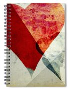 Hearts 6 Square Spiral Notebook