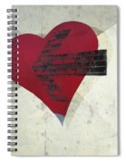 Hearts 7 Square Spiral Notebook