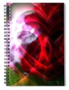 Hearts A Fire Spiral Notebook