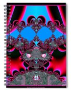 Hearts Ballet Curtain Call Fractal 121 Spiral Notebook