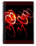 Hearts In Color Spiral Notebook