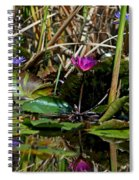 Heat Of The Afternoon - Down At The Lily Pond Iv Spiral Notebook