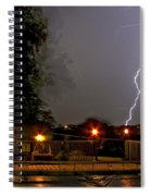 Heat Of The Night Spiral Notebook