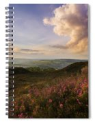 Heather Sunset Spiral Notebook