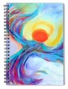 Heaven Sent Digital Art Painting Spiral Notebook