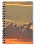 Heavenly Clouds Spiral Notebook
