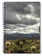 Heavenly Desert Skies  Spiral Notebook