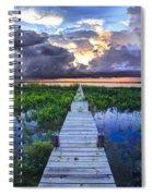 Heavenly Harbor Spiral Notebook