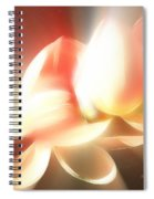 Heavenly Lilies Spiral Notebook
