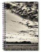 Heavenly Summer Sky Spiral Notebook