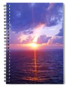 Heavenly Sunset Spiral Notebook