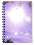 Heavens Blue  Spiral Notebook