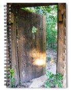 Heavens Door Is Always Open Spiral Notebook