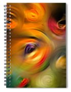 Heaven's Eyes - Abstract Art By Sharon Cummings Spiral Notebook