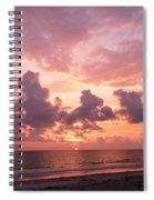 Heavens Glow Spiral Notebook