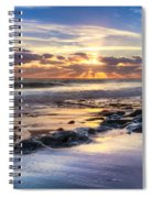 Heaven's Lights Spiral Notebook