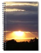 Heaven's Rays 3 Spiral Notebook