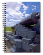 Heavy Artillery Spiral Notebook
