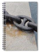 Heavy Duty Anchor Chain Spiral Notebook