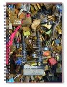 Heavy-duty Love Spiral Notebook