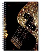 Heavy Metal Bass Spiral Notebook