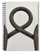 Heavy Metal Bends Spiral Notebook